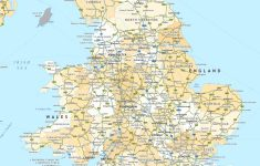 Printable Map Of England