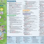 Epcot International Festival Of The Holidays Map 2018 At Walt Disney In Printable Epcot Map