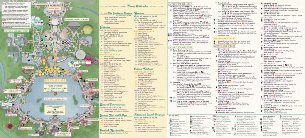 Epcot Map - Walt Disney World throughout Epcot Park Map Printable