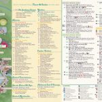 Epcot Map   Walt Disney World With Printable Epcot Map