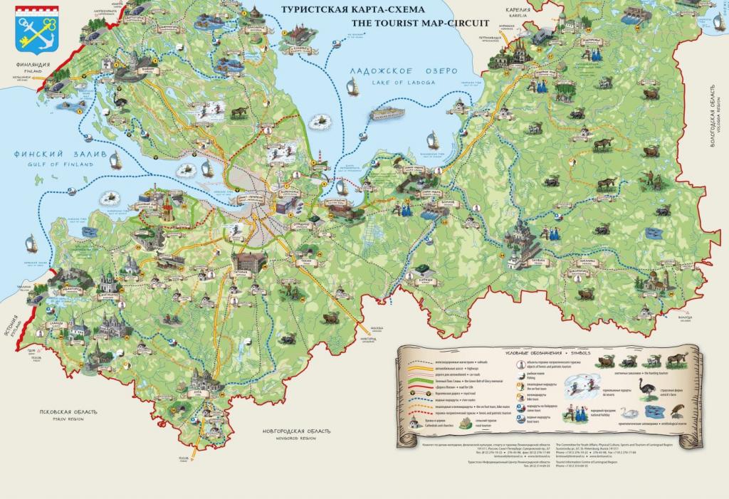 Essential Tourist Maps Of St. Petersburg (Pdf And Jpg) with Printable Tourist Map Of St Petersburg Russia