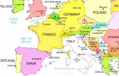 Europe Countries On Printable Map Of With World Maps Within 9 for Printable Map Of Western Europe