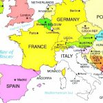 European Countries And Capital Cities Interactive Map So Much Of Inside Printable Map Of Europe With Major Cities