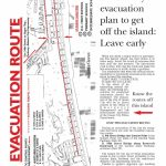 Evacuation Route Map With Regard To Printable Street Map Ocean City Nj