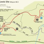 Exploring The Meriwether Lewis Site   Natchez Trace Parkway (U.s. Within Lewis And Clark Trail Map Printable