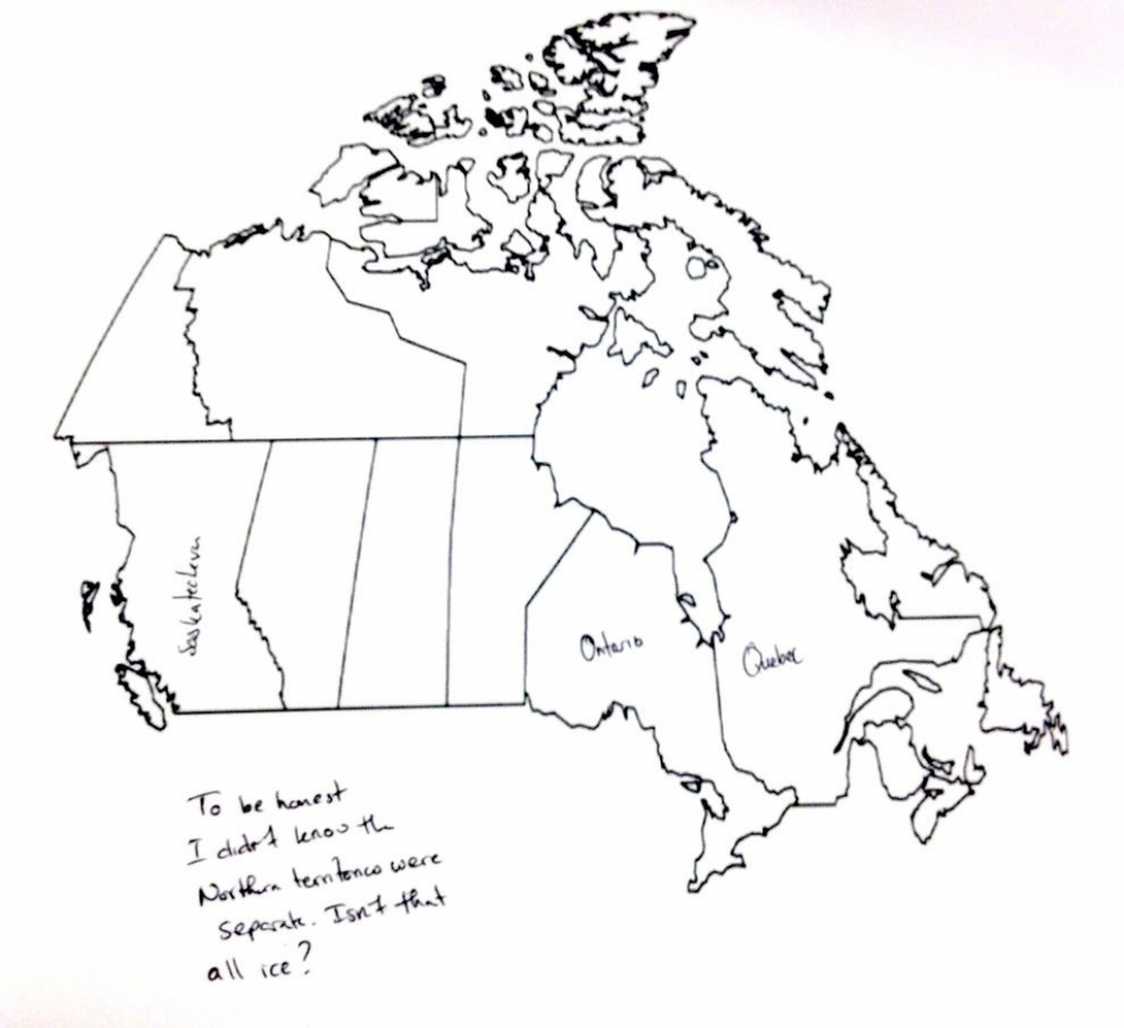 F81I0Cl Label Map Of Canada 4 | Globalsupportinitiative regarding Printable Blank Map Of Canada To Label