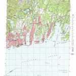 Falmouth Topographic Map, Ma   Usgs Topo Quad 41070E5 With Regard To Printable Map Of Falmouth Ma