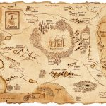Fantasy Maps | The Stranger's Bookshelf With Printable Map Of Narnia