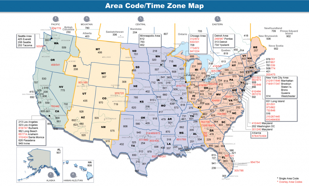 File:area Codes & Time Zones Us - Wikimedia Commons within Printable Time Zone Map With States