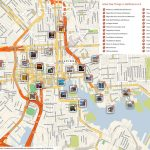 File:baltimore Printable Tourist Attractions Map   Wikimedia Commons Intended For Warsaw Tourist Map Printable