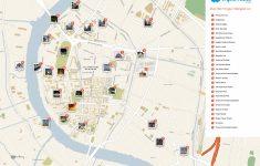 Bangkok Tourist Map Printable