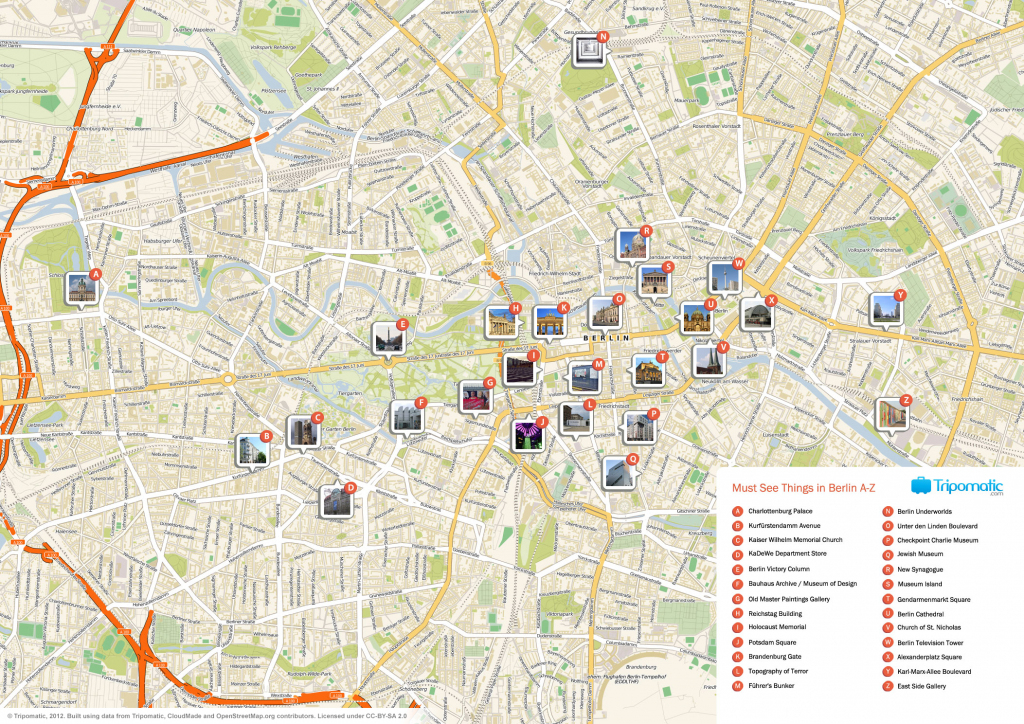 File:berlin Printable Tourist Attractions Map - Wikimedia Commons inside Printable Map Of Berlin
