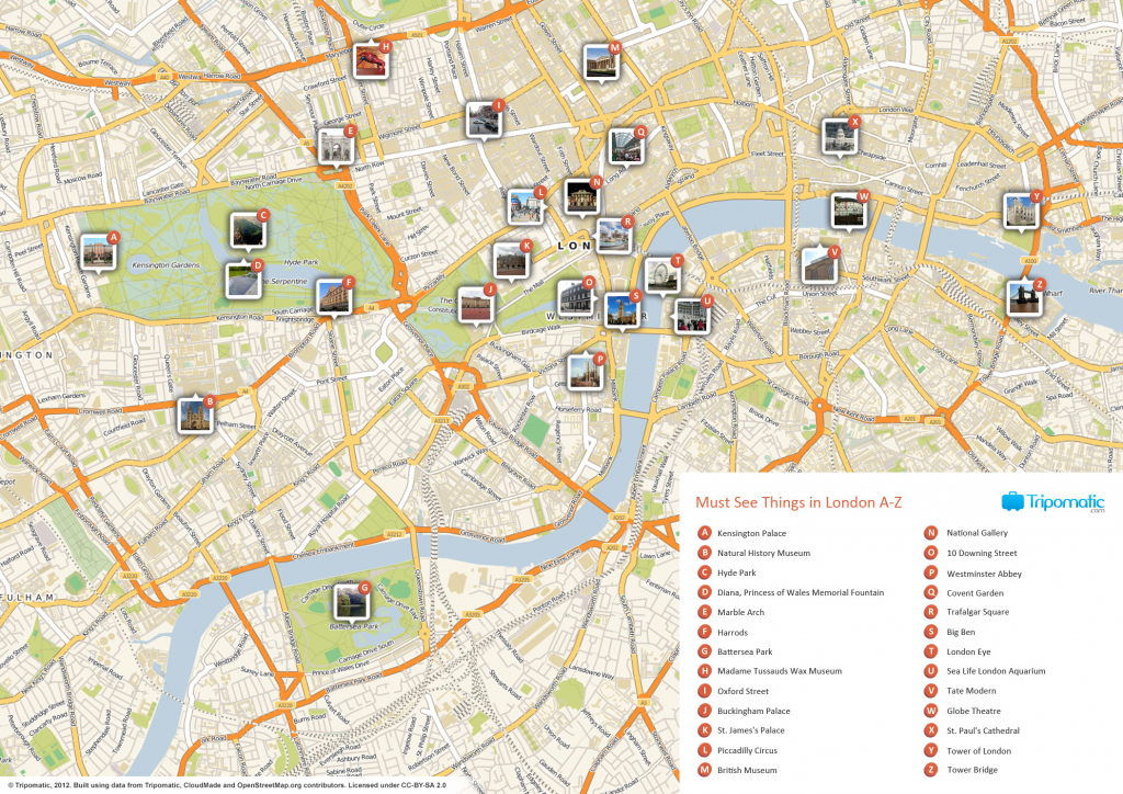 File:london Printable Tourist Attractions Map - Wikimedia Commons inside Printable Tourist Map Of London Attractions