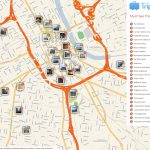 File:nashville Printable Tourist Attractions Map   Wikimedia Commons In Printable Map Of Nashville Tn