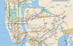 File:official New York City Subway Map Vc – Wikimedia Commons for Printable Nyc Subway Map