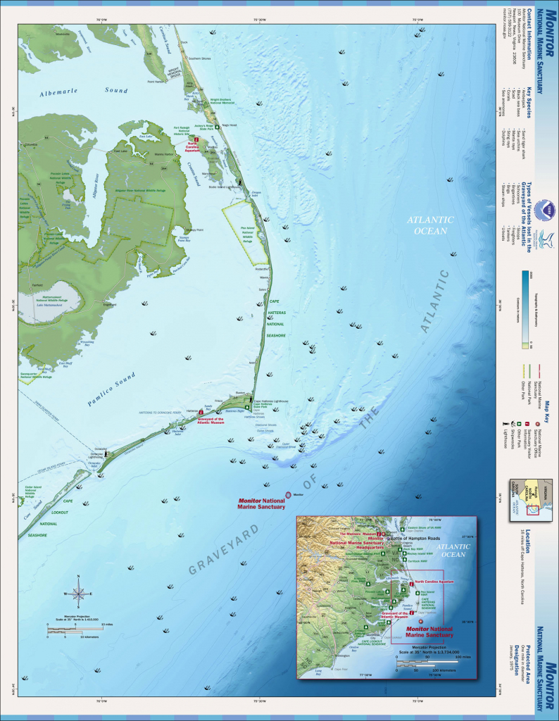 File:outer Banks Map - Wikimedia Commons with Printable Map Of Outer Banks Nc