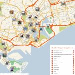 File:singapore Printable Tourist Attractions Map   Wikimedia Commons Within Singapore City Map Printable