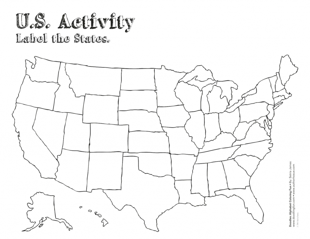 Find Picture Of A Blank Us Map Label Blank Us Map Game Usa Map Fresh for Blank Us Map With Capitals Printable