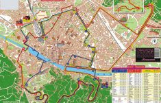 Printable Walking Map Of Florence