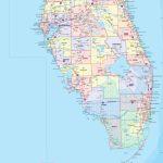 Florida County Wall Map   Maps   Florida Wall Maps For Sale With Regard To Florida County Map Printable