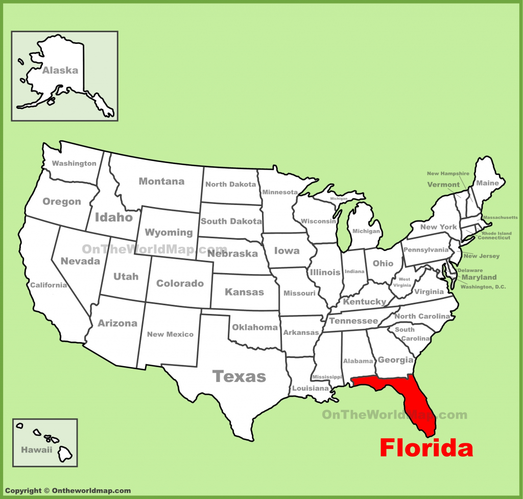 Florida State Maps | Usa | Maps Of Florida (Fl) regarding Florida State Map Printable