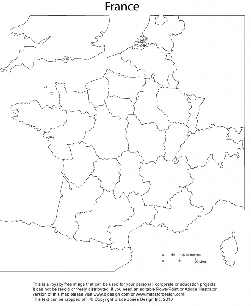 France Map, Printable, Blank, Royalty Free, Jpg for Map Of France Outline Printable