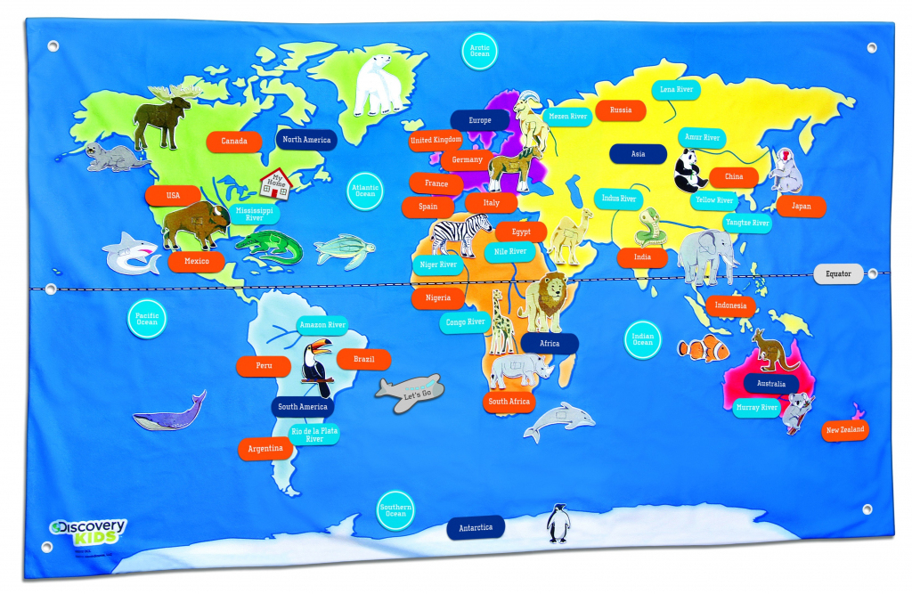 Free Country Maps For Kids A Ordable Printable World Map With in Printable Maps For Kids