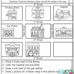 Free Map Skills Worksheets Math Worksheets Free Printable Following Throughout Printable Map Skills Worksheets