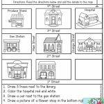 Free Map Skills Worksheets Math Worksheets Free Printable Following Within Free Printable Map Skills Worksheets