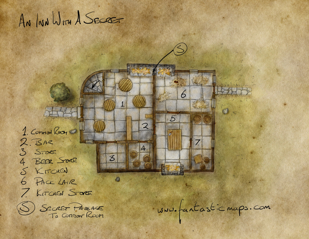 Free Maps - Fantastic Maps pertaining to Printable D&d Map Tiles