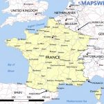 Free Maps Of France – Mapswire Within Printable Road Map Of France
