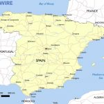 Free Maps Of Spain – Mapswire Inside Printable Map Of Spain With Cities