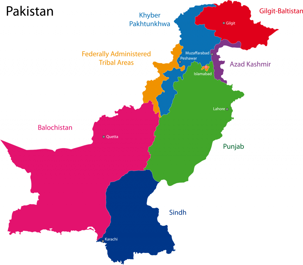 Free Pakistan Map Outline, Download Free Clip Art, Free Clip Art On regarding Printable Map Of Pakistan