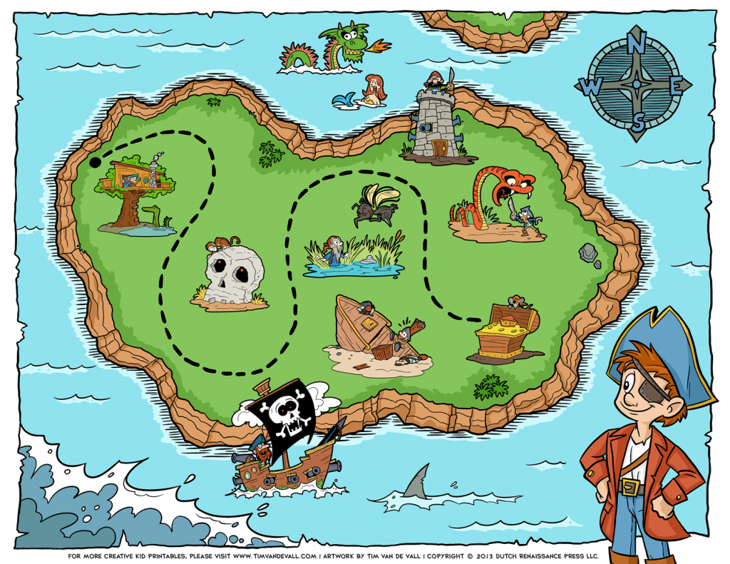 Free Pictures Of A Pirate Map, Download Free Clip Art, Free Clip Art throughout Printable Pirate Map