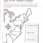 Free Printable 13 Colonies Map … | Activities | Socia… Throughout 13 Colonies Map Printable