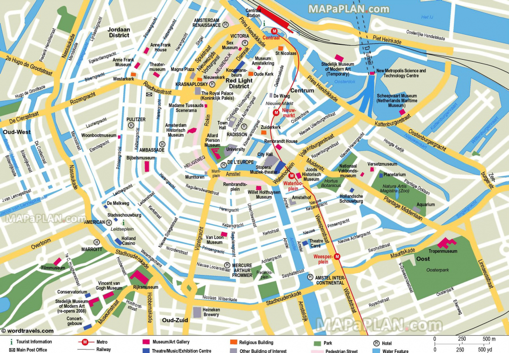 Free Printable Map Of Amsterdam - Google Search | Earth/environment intended for Printable Map Of Amsterdam