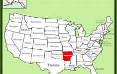 Printable Map Of Arkansas