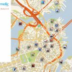 Free Printable Map Of Boston, Ma Attractions. | Free Tourist Maps Within Boston Tourist Map Printable