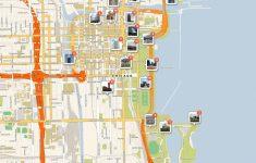 Chicago Tourist Map Printable