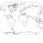 Free Printable Map Of Continents And Oceans | Free Printables With Printable Map Of Continents