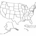Free Printable Map Of The United States Save United States Map Blank Inside Printable Map Of The United States Without State Names