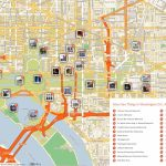 Free Printable Map Of Washington D.c. Attractions. | Free Tourist With Washington Dc Tourist Map Printable
