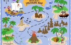 Printable Kids Pirate Treasure Map