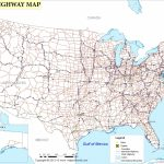 Free Printable Us Highway Map Usa Road Map Luxury United States Road With Free Printable Road Maps