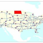 Free Printable Us Highway Map Usa Road Map Unique United States Map For Printable Us Map With Interstate Highways