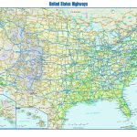 Free Printable Us Highway Map Usa Road Map Unique United States Road With Free Printable Road Maps