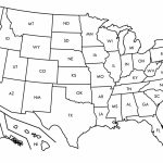 Free Printable Us Map Blank Usa52Blankbwprint Inspirational Amazing Within Free Printable Map Of The United States