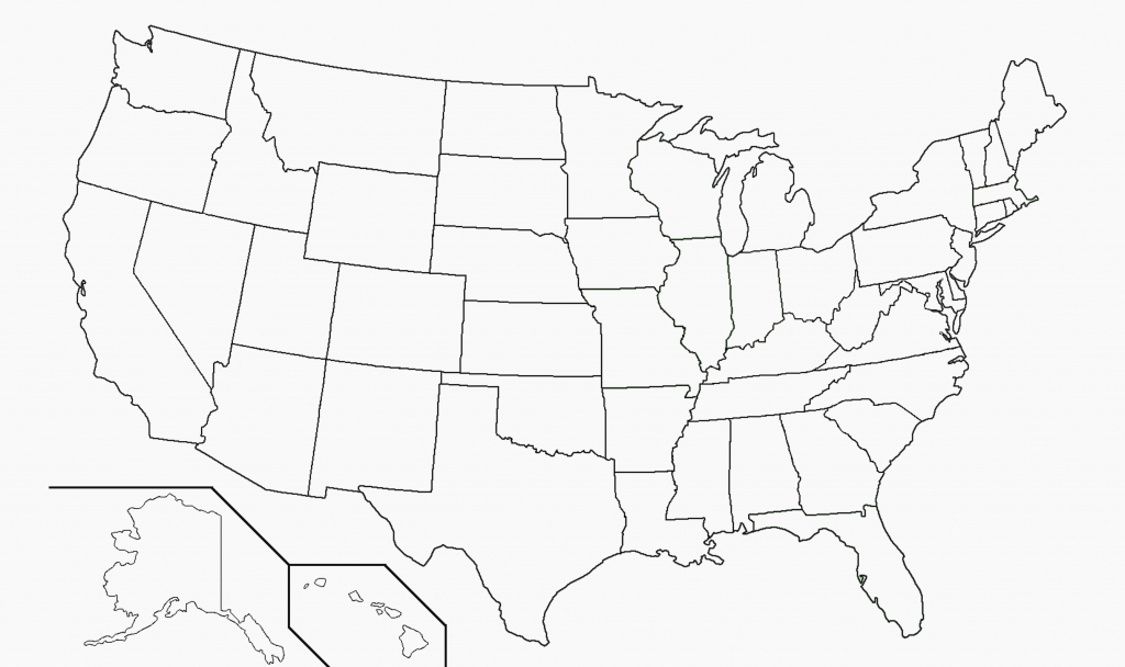 Free Printable Us Map Blank Usa52Blankbwprint Unique Amazing United pertaining to Printable Usa Map Outline