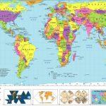 Free Printable World Map | D1Softball Pertaining To Free Printable World Map