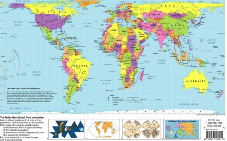 Printable World Maps For Students